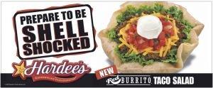 Hardee's Shell Shocked Ad