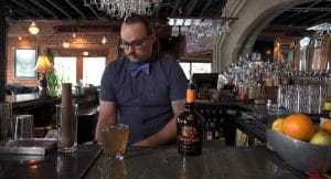 Mixologist in Bars Making Cocktails